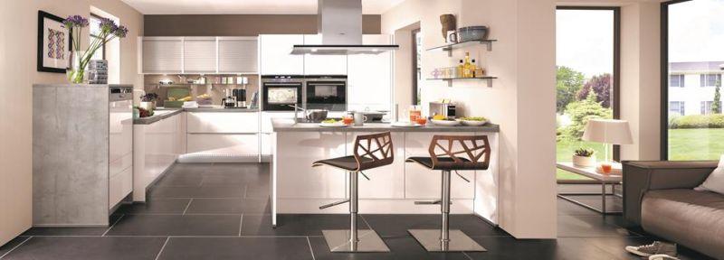 Familien-Küche mit maximalem Stauraum